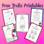 Trolls Activity Sheets – Free Printables