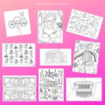 Fab downloadable Free Colouring Sheets