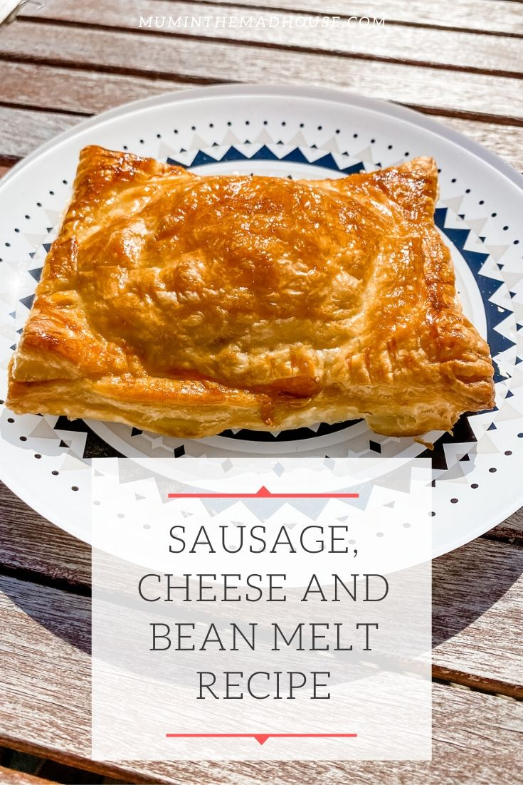 Make your own version of Greggs Sausage, Cheese and Bean Melt with our simple and delicious fakeaway.