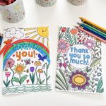 Thank You Colouring Pages