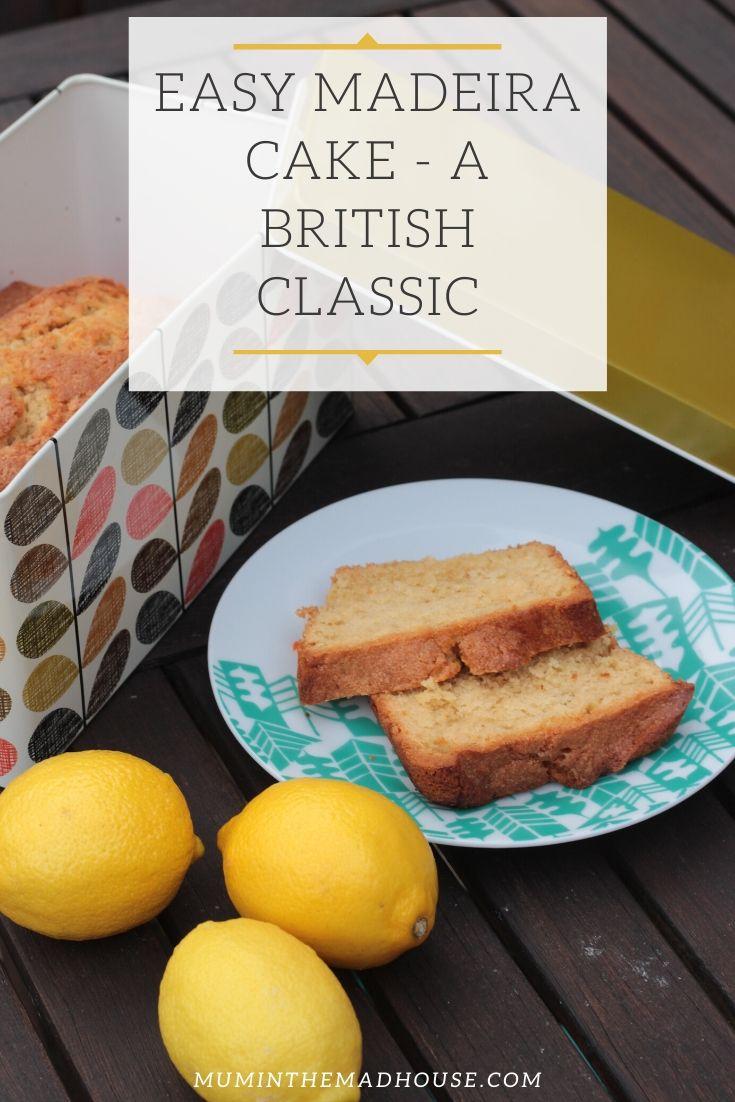 EASY Madeira Cake - a british classic