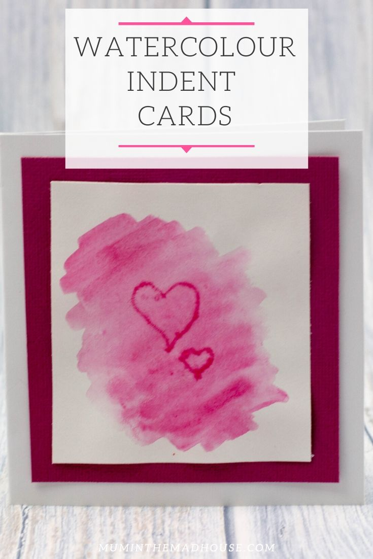 Watercolour Indent Card