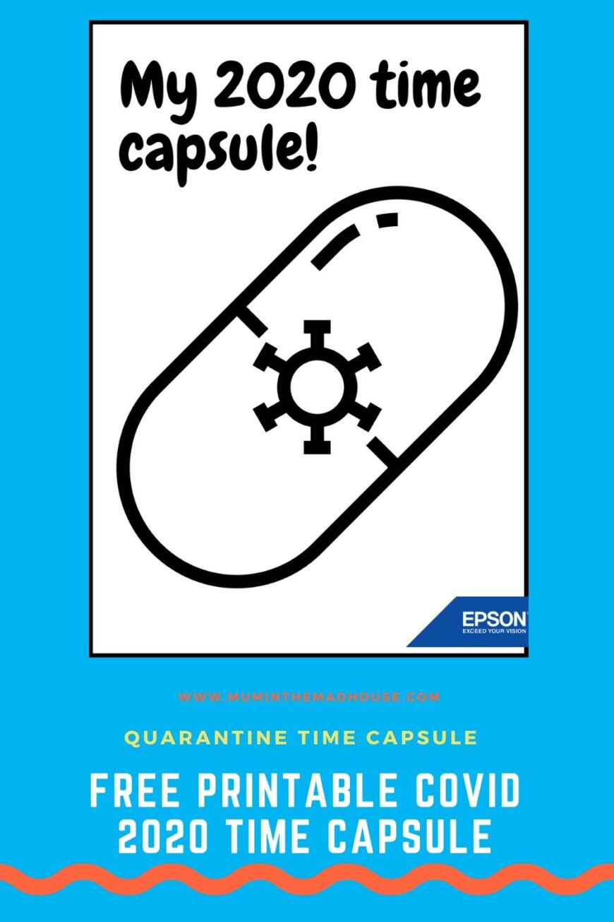 We are living at a very unique time in history and this Lockdown 2020 Time Capsule Printable is a great way to record it with your kids.