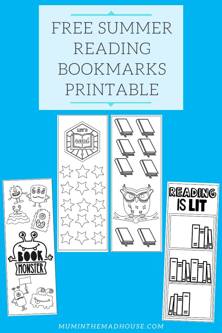 Dive into summer reading with our free summer reading bookmarks! Our Summer Reading Bookmarks Printable is the perfect way to record summer reading.