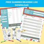 Free Summer Reading Log Printable