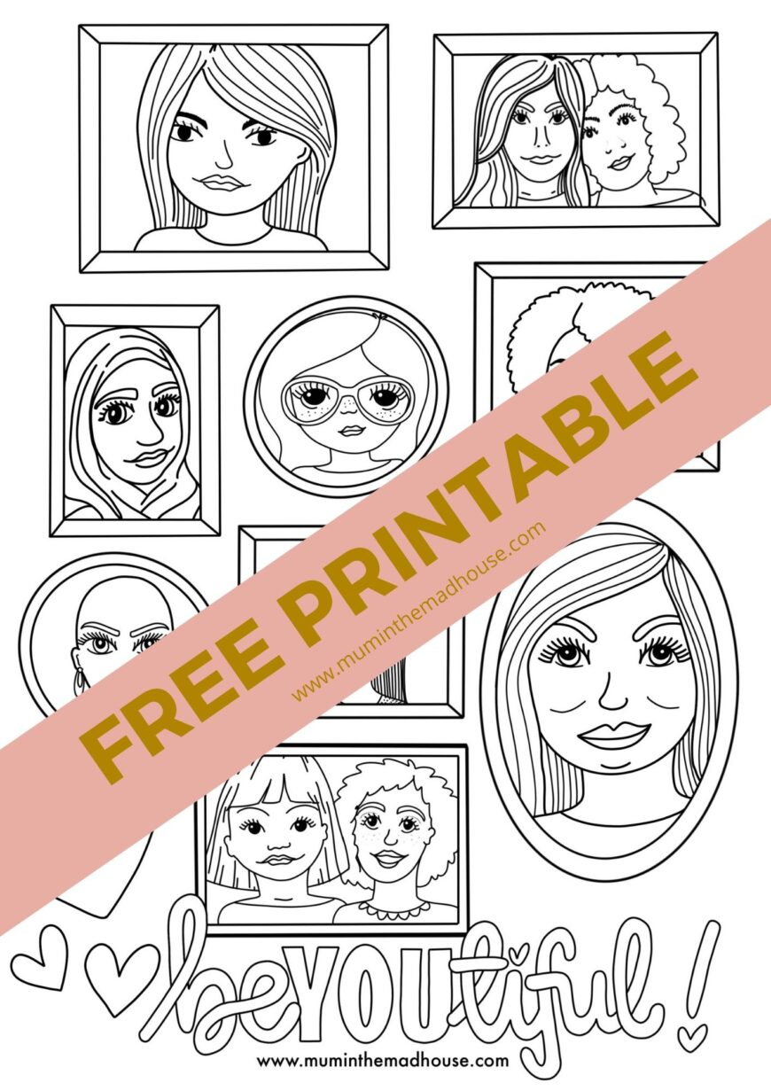 These fun free adult colouring sheets are perfect for when you need some downtime.  I love that they are full of diversity and will be so perfect for when you need to unwind.