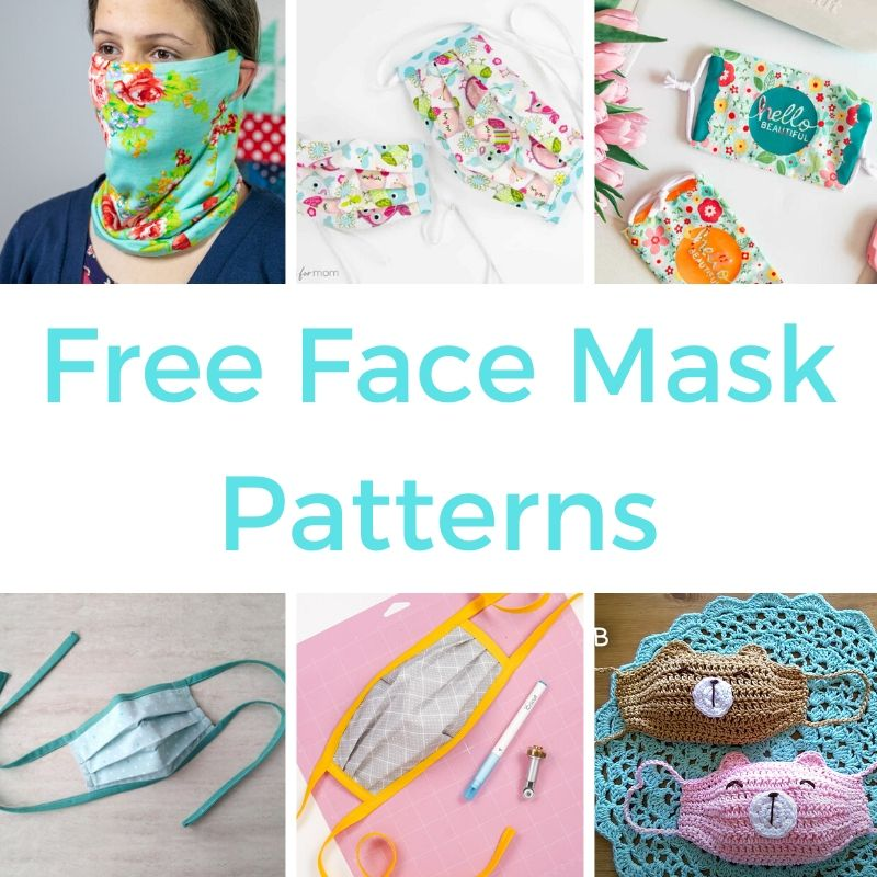 With face masks becoming compulsory in more and more places I wanted to produce a round-up of face mask patterns.