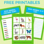 Free Printable Zoo Scavenger Hunt