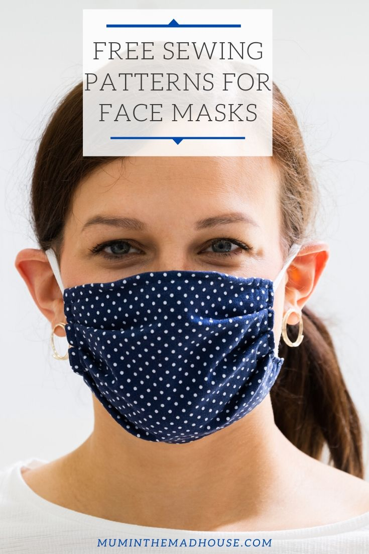 Free sewing patterns for face masks