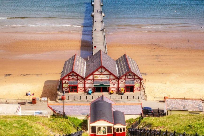 Best Beaches in North Yorkshire - Saltburn