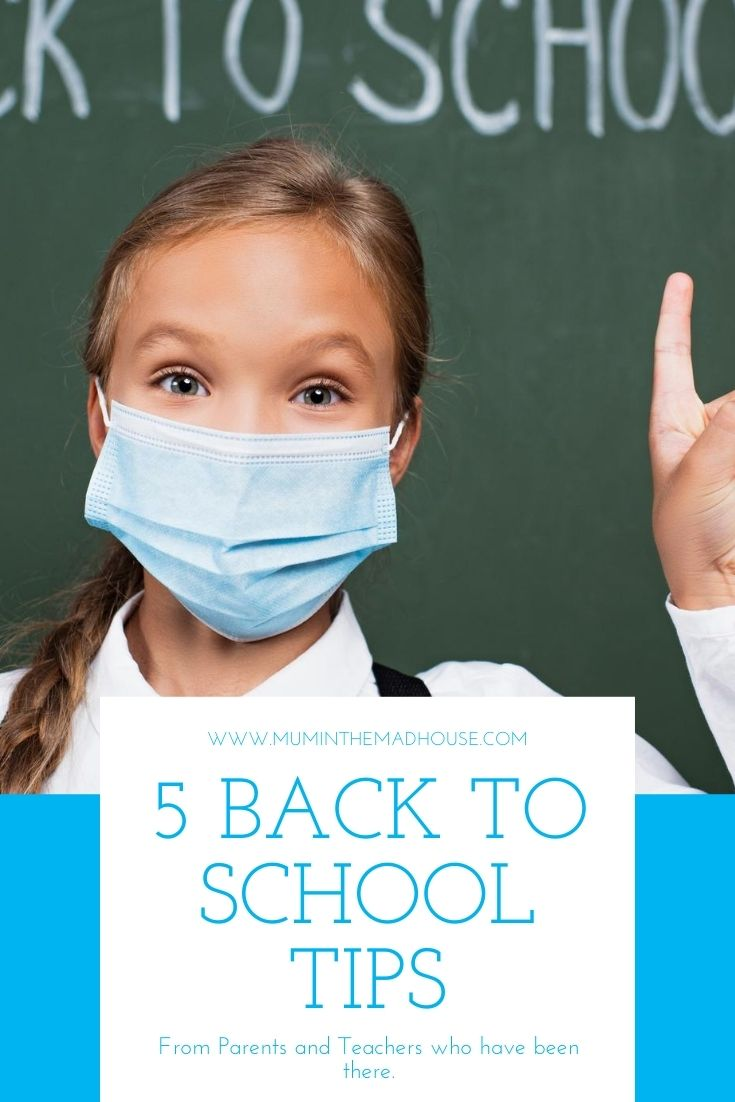 After 11 years of being a school mum I have some excellent tips that make the back to school routine easier, follow our 5 simple tips.