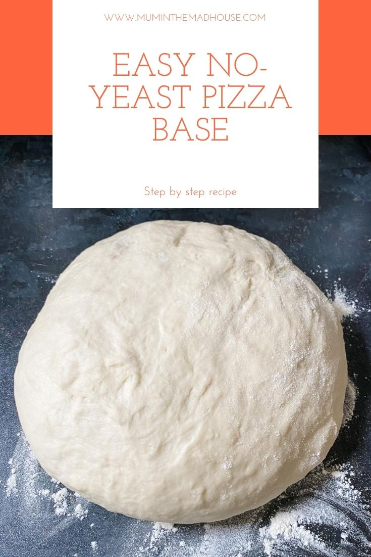 No yeast pizza To the oven in under 15 minutes