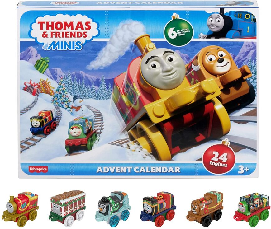 From Harry Potter to Paw Patrol, get your child even more excited for Christmas with the must have advent calendars for tots to teens that guarantee a playful Christmas countdown
