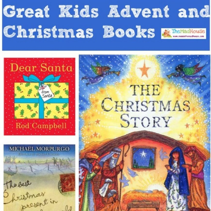 Now is the perfect time to share with you some of our favorite kids books for Advent and Christmas. Books to cherish and bring out each year.