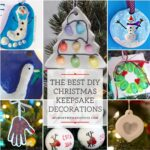 The best DIY Christmas Keepsake Decorations