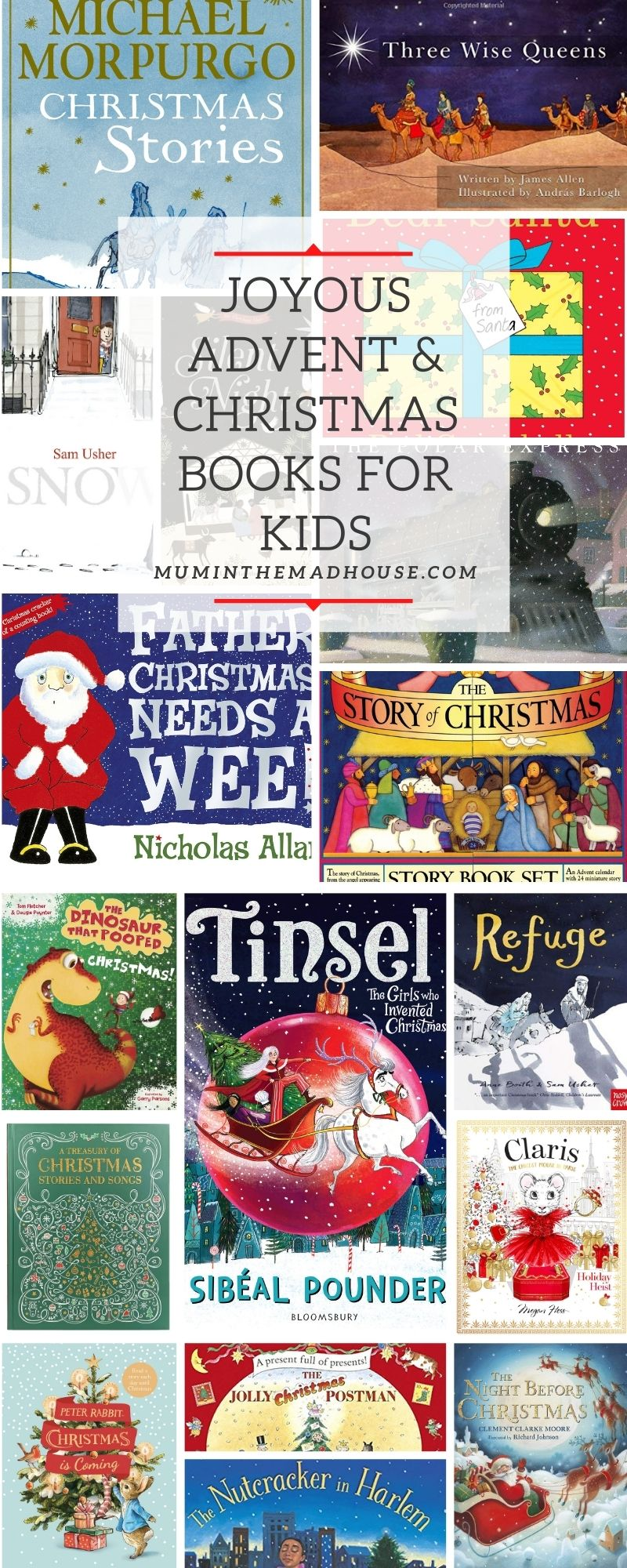 Joyous Advent and Christmas Books for Children.  Celebrate with these delightful festive books for all the family.