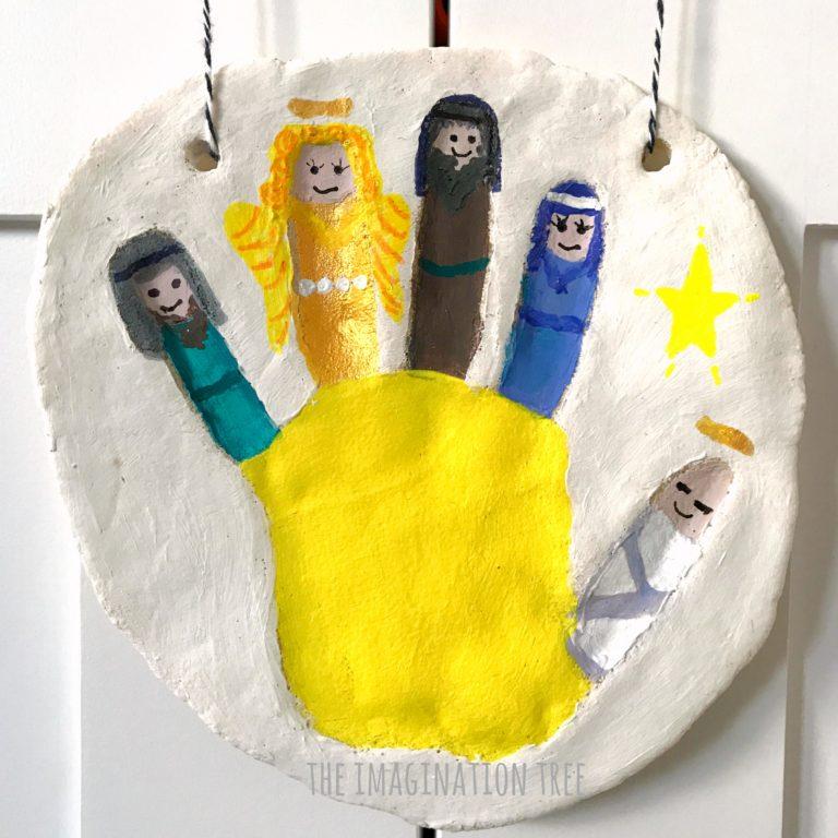 Nativity Salt Dough Keepsake ornament