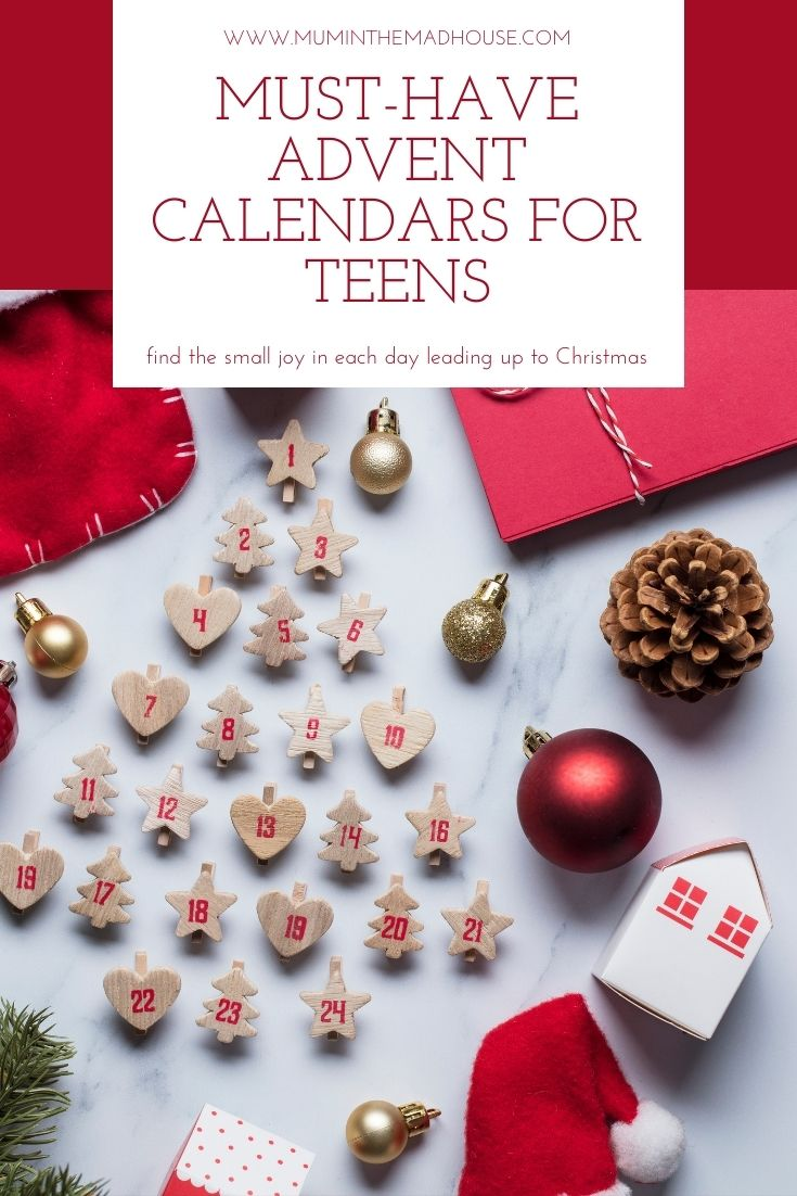 Must-Have Advent Calendars for  Teens