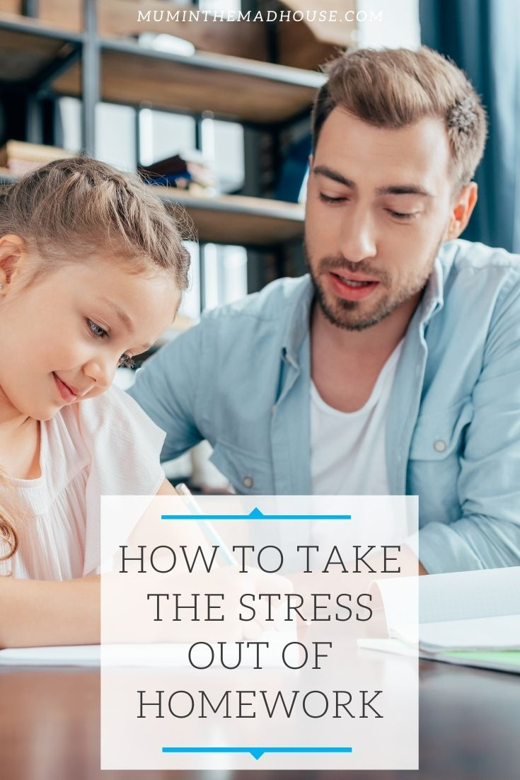 Here's a few great ways to help your child with their homework. Take the stress out of homework for you and your child.