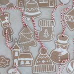 DIY Cardboard Gingerbread Ornaments or Gift Tags with Free Printable
