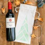 Infusible Ink Bottle Bag - Geometric Tree Design