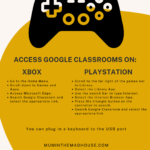 How to Use Google Classrooms on an Xbox or PlayStation