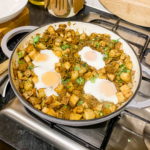 Smoky Beef and Crispy Potato Hash with Eggs