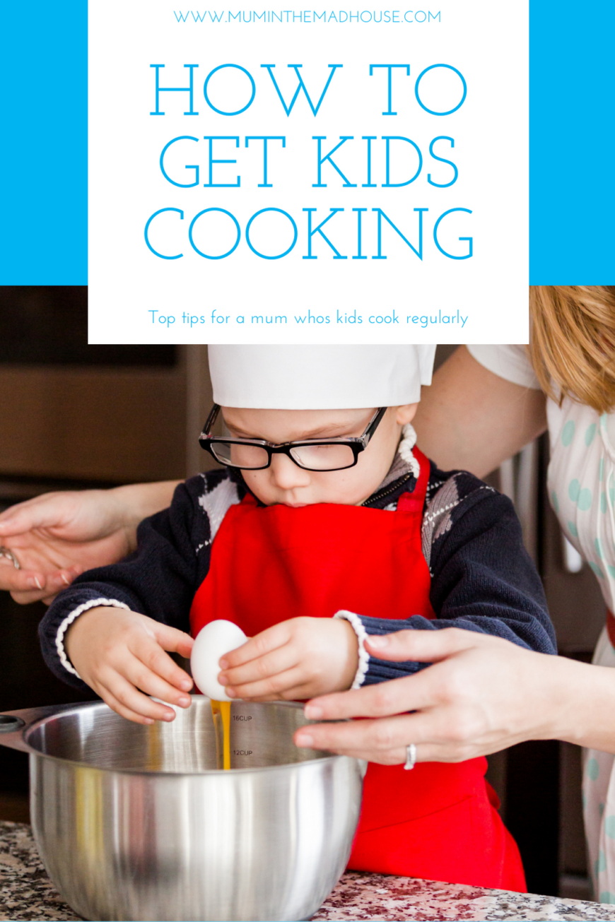 Follow our tips to get kids helping in the kitchen and before you know it they will have a fabulous life skill and be cooking for you.