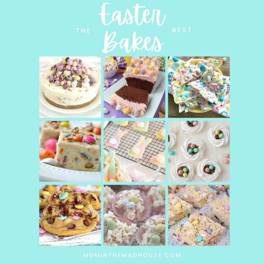 The best Easter desserts to make this year that almost look too good to eat.  Celebrate the season with these delicious Easter & Spring Bakes