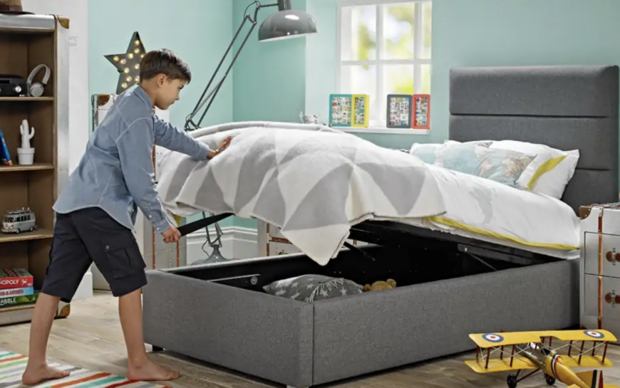 Jules Upholstered Ottoman Storage Bed