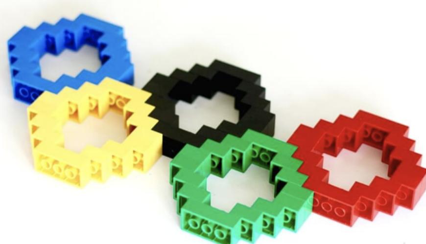 LEGO Olympic ~Rings