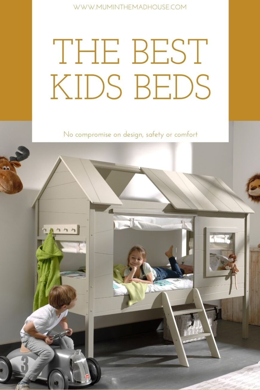 The best kids bed with no compromise on design, safety & comfort