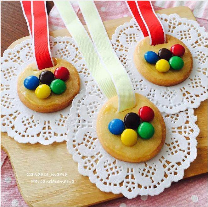 Edible Olympic Games Medals