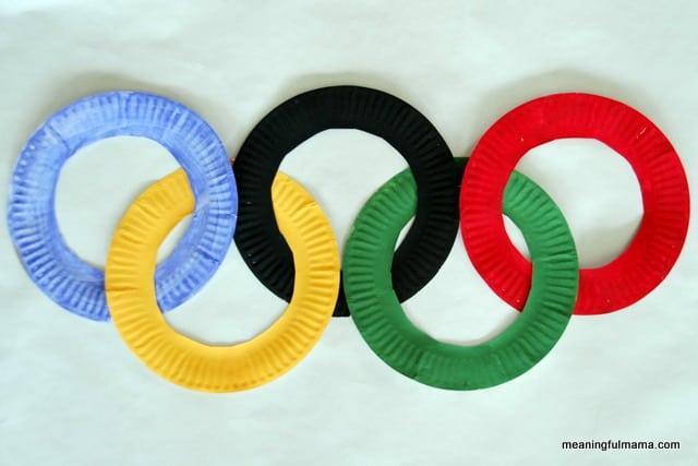 DIY Olympic Games Ring Craft
