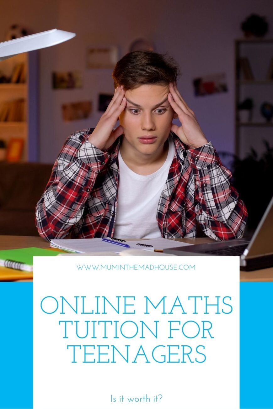 Online maths tuition for teenagers
