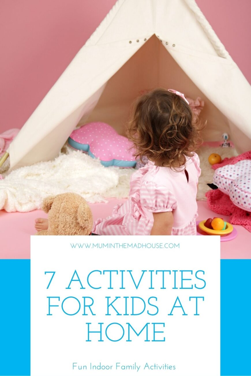 If you are out of ideas about how to occupy your children while being at home, we are here to help! Read about the top 7 ideas for home entertainment.