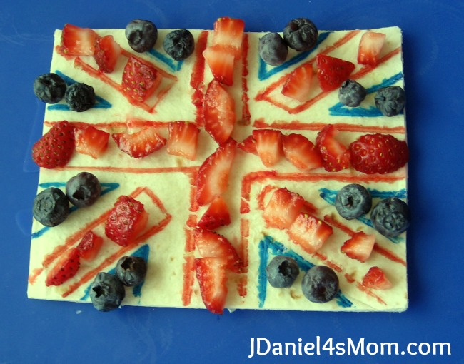 DIY Edible Union Jack activity to celebrate the queens Platinum Jubilee