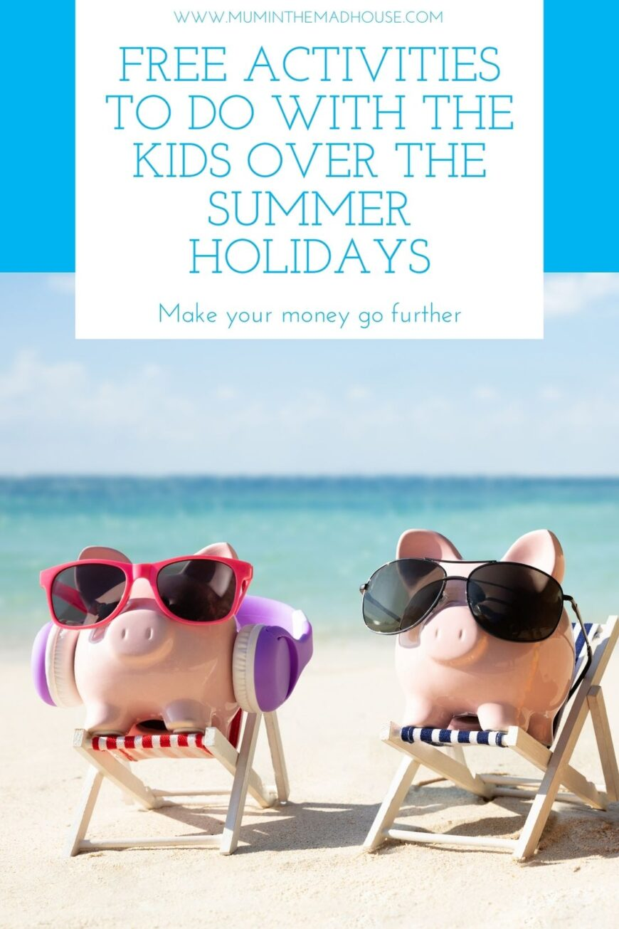 Summer holidays can be expensive and it can be hard to say no kids, so here are free things to do in the summer holidays with kids and tips to make your money go further.