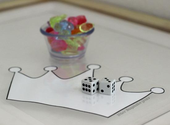 DIY Queens Platinum Jubilee Maths Game