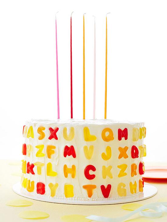 Alphabet party Cake