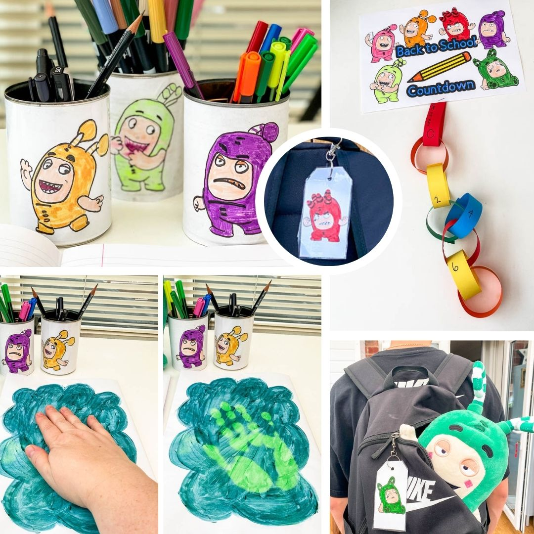Get Crafty with These Oddbods-Inspired Accessories for School