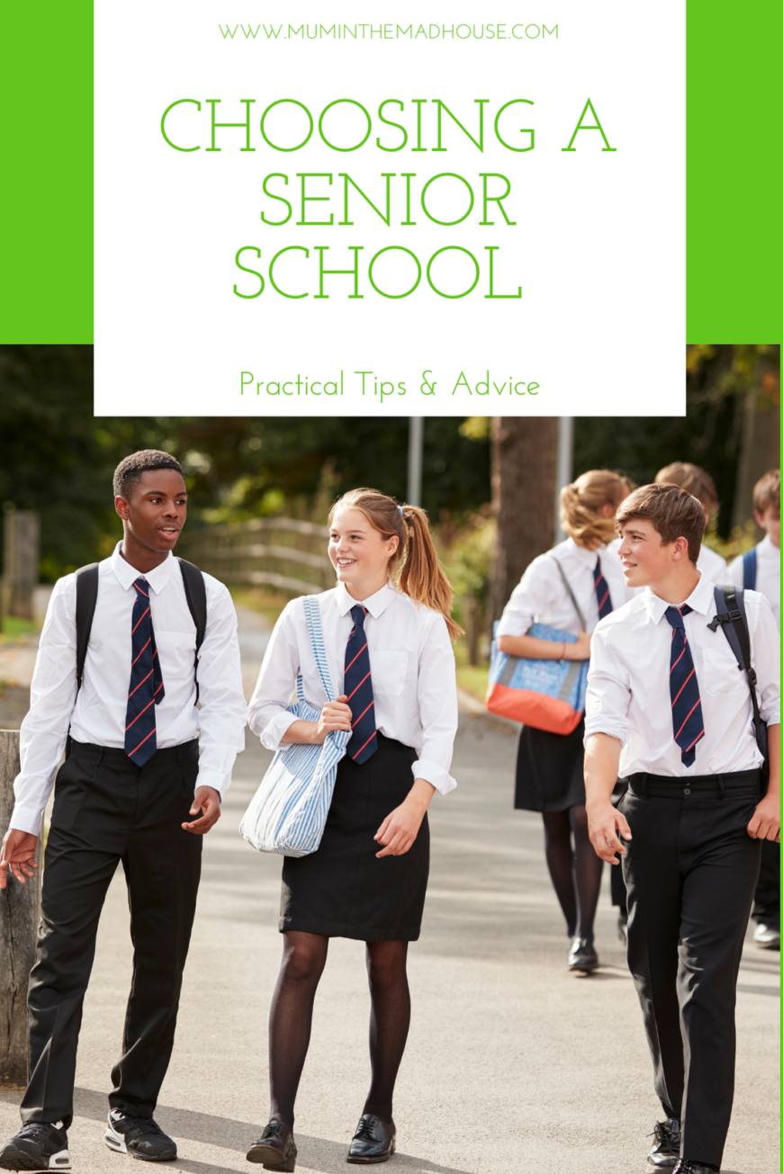Tips for Choosing a Senior School, we share all the essential knowledge to help make this massive decision as easy as can be for you and your child.