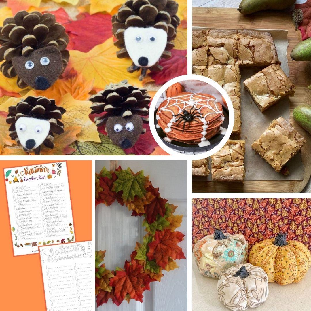 Fall/Autumn Activities, Crafts and Food Roundup