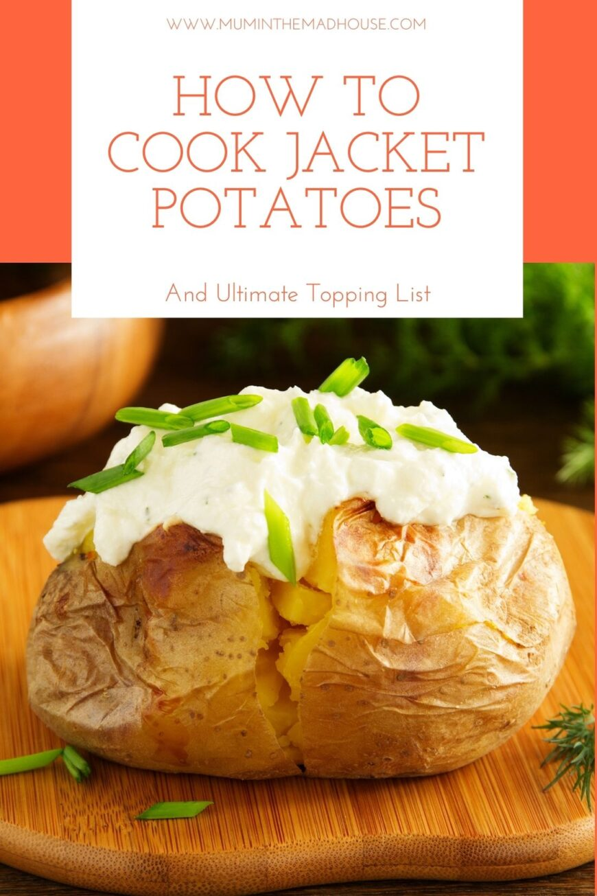 We have rounded up the best baked potato fillings & toppings plus advice on how to cook the ultimate Jacket Potatoes.