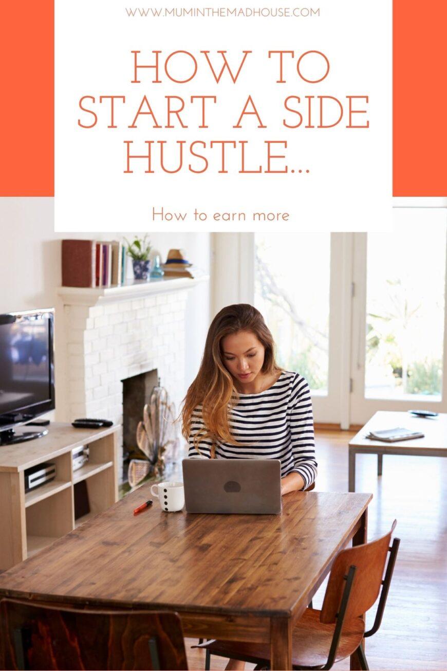 Mompreneurs heres how to start a side hustle... 1