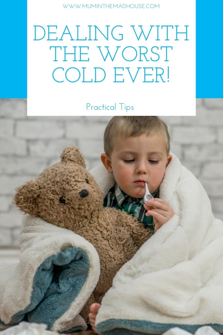 Tips for dealing with the Worst Cold Ever 1