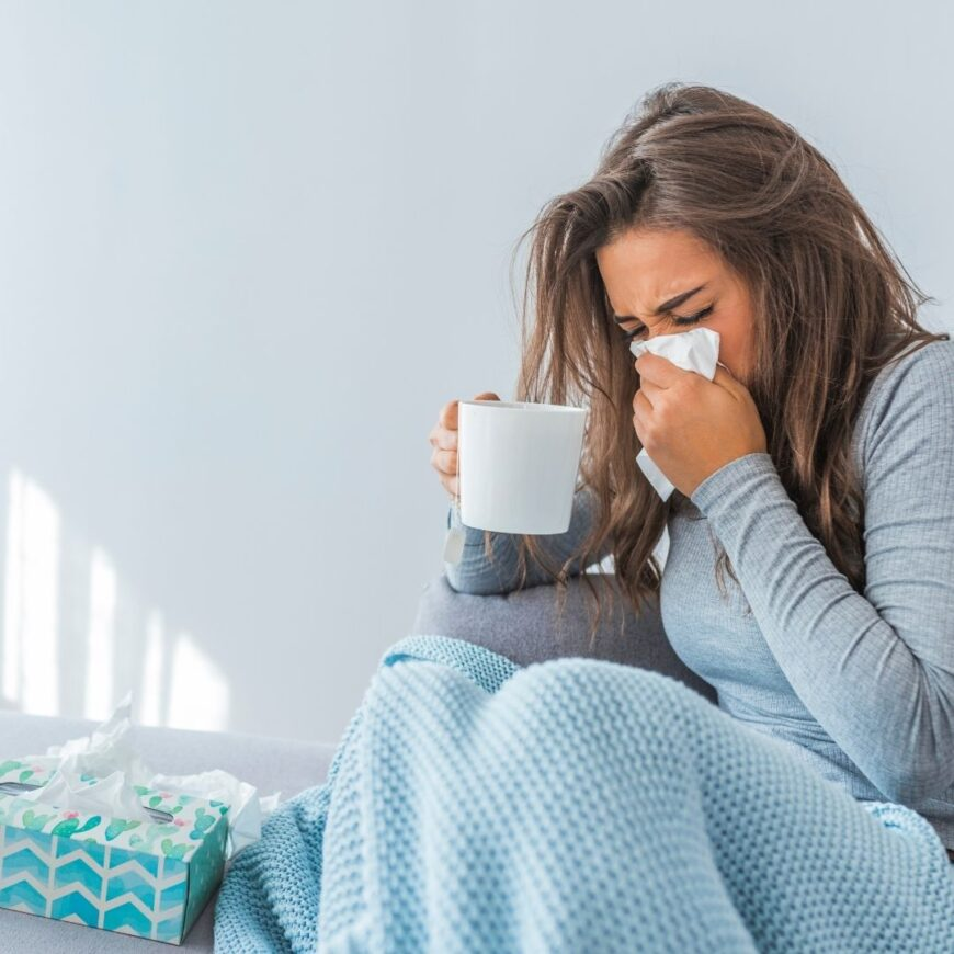 How do you cope with the worst cold ever? Follow our tried and tested tips to treat symptoms cold and flu using natural ingredients.